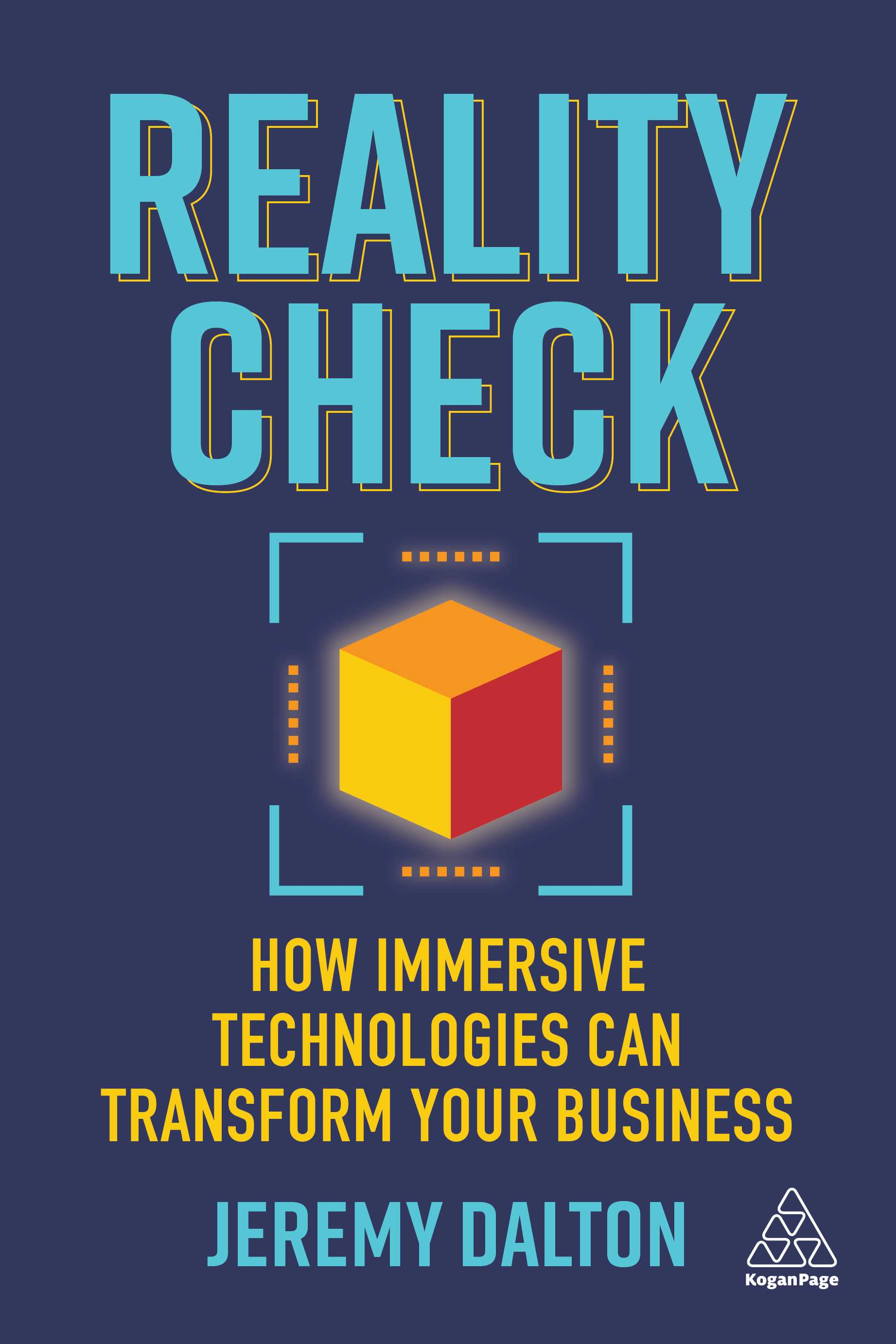 The cover of the book, Reality Check, by Jeremy Dalton